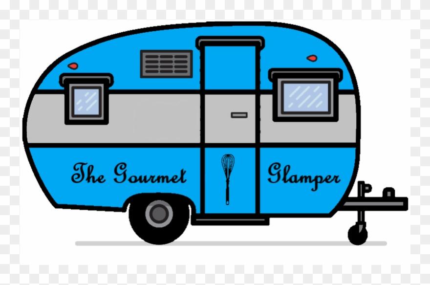 Camper clipart vintage camper, Camper vintage camper.