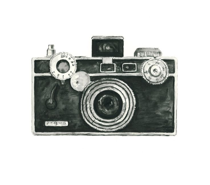 Vintage Camera Clip Art Nikon.