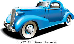 Old car Clipart and Illustration. 7,493 old car clip art vector.