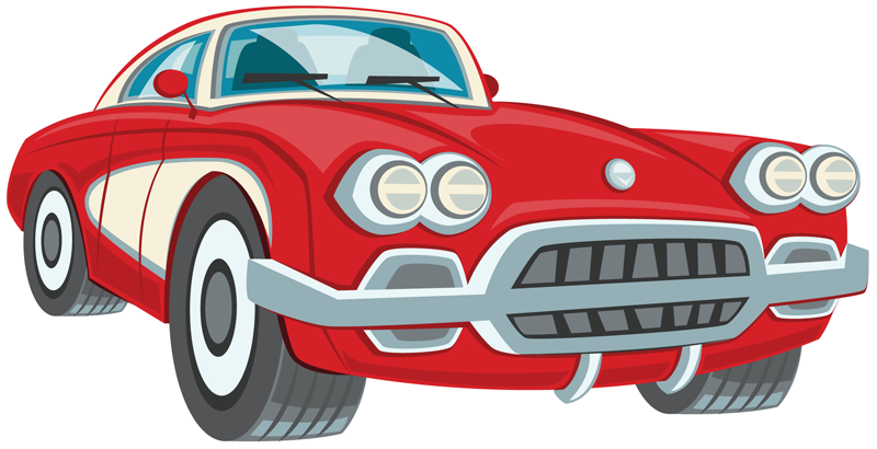 Antique car clipart #9