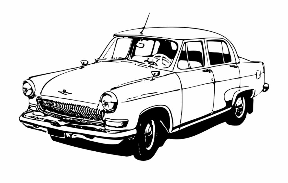 Classic Car Clipart.