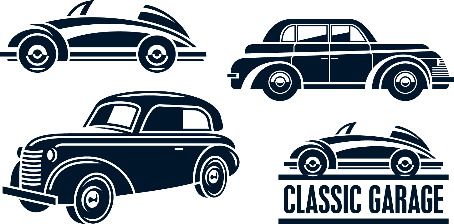 Classic car Vintage Retro.