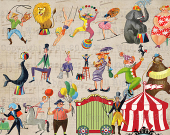 Free Vintage Carnival Cliparts, Download Free Clip Art, Free.