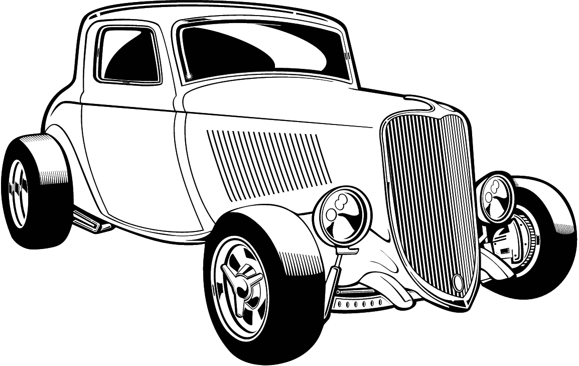 Antique Car Clipart.