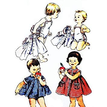 Amazon.com: Simplicity 1151 Vintage \'50s Child\'s Sewing.
