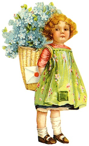Free Clip Art from Vintage Holiday Crafts » Blog Archive » Free.