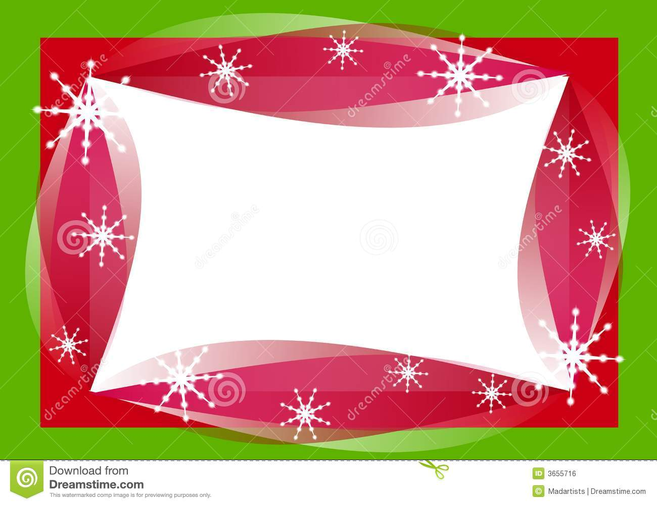 1611 Christmas Borders free clipart.
