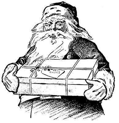 6 Santa Illustrations.