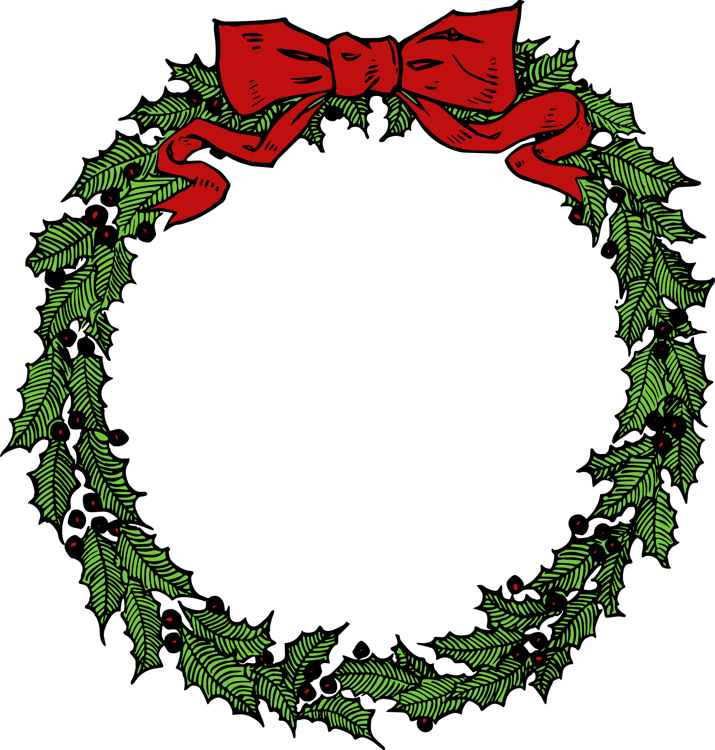 Free Christmas Garland Clipart Free Royalty Free Stock.