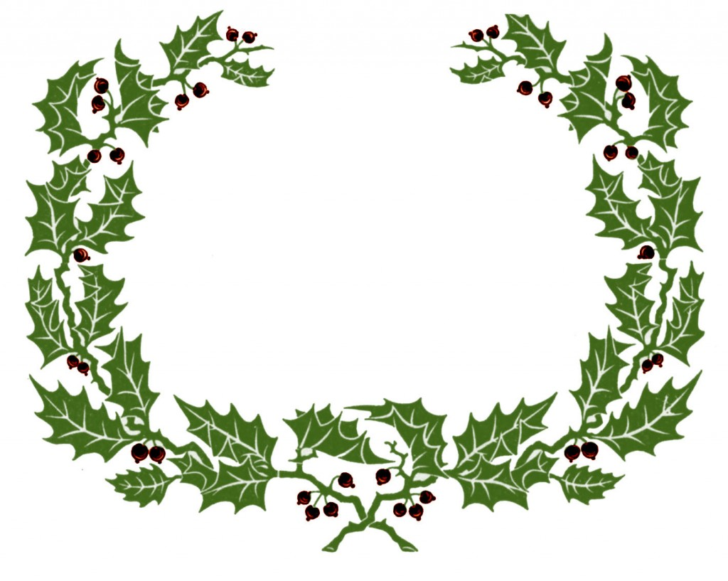 Christmas Vintage Clipart.
