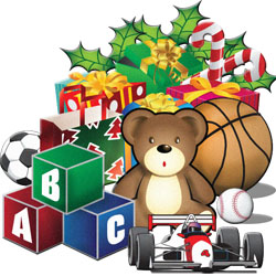 Free Christmas Toy Clipart.