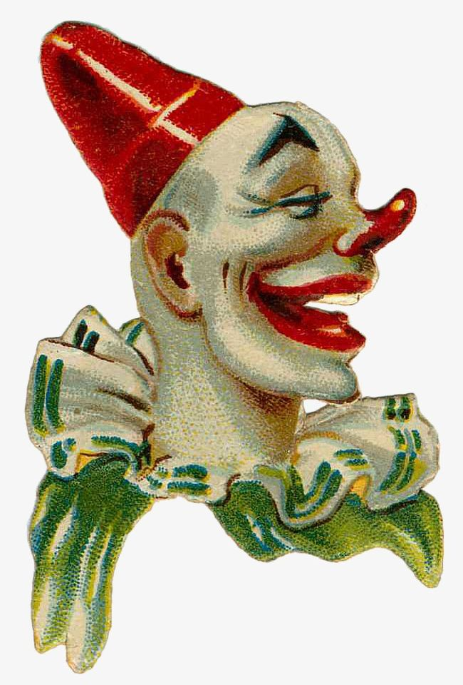 Vintage Circus Clown PNG, Clipart, Animal, Buckle, Circus.