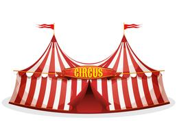 Circus tent collection set.