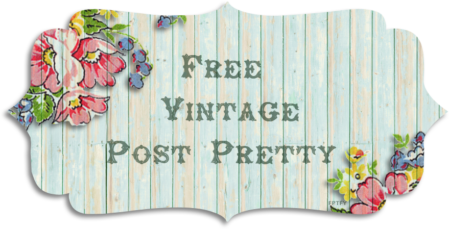 Free Vintage Post Pretty/Blog Banner.