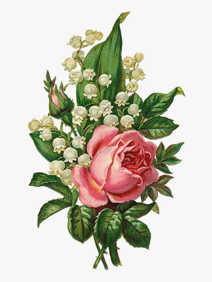 Clipart Free Download Png Vintage Roses Scrap And Decoupage.