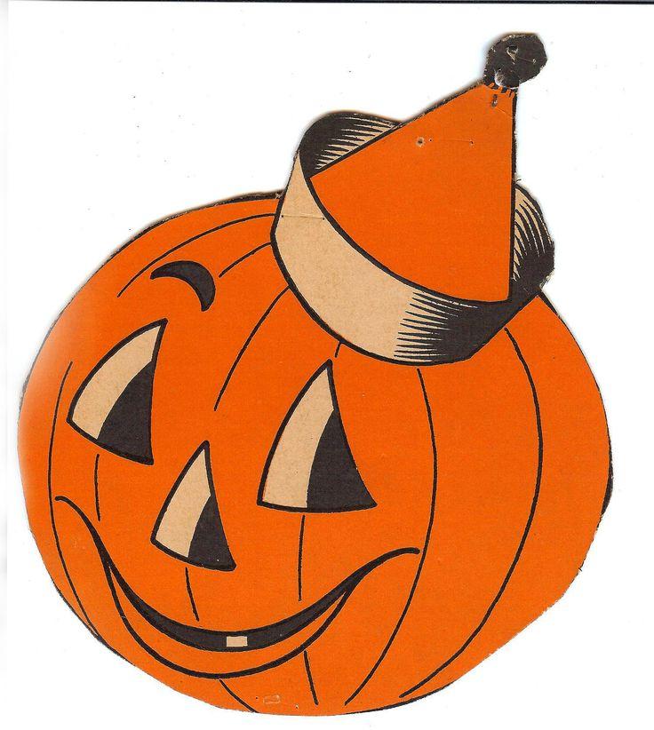 35+ Vintage Halloween Clipart.