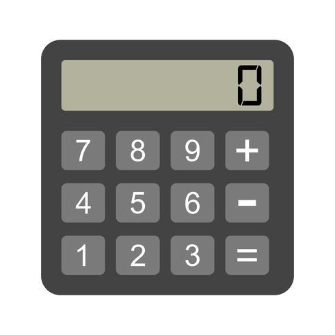 Vector Calculator Icon.