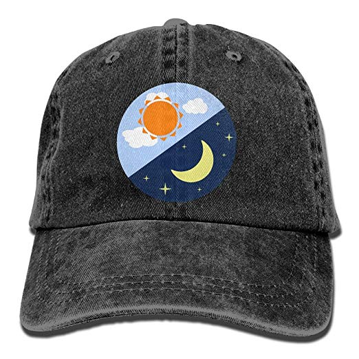 Amazon.com: CDHLBNG Men and Women Moon Clipart Day Night.