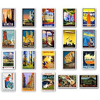 Amazon.com : DreamHigh 64pcs Collectable Vintage Postcards.
