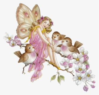 Free Fairies Clip Art with No Background.