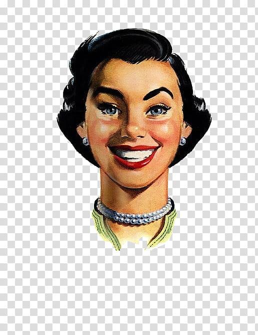 Vintage Files, woman painting illustration transparent.