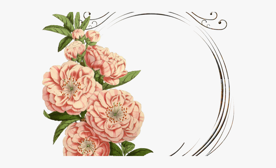 Vintage Flower Clipart Mexican Flower.