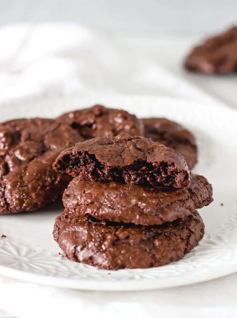 Fudgy Brownie cookies.