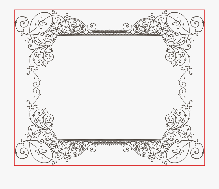 More Free Clipart Vintage Frames Borders Ornaments.