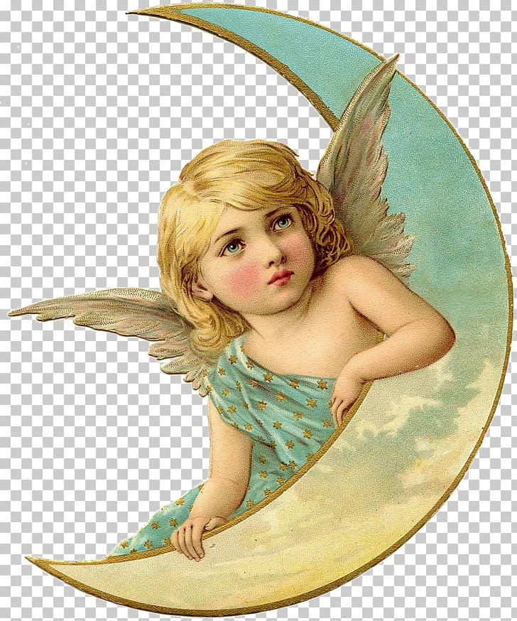 Cherub Angel Post Cards Antique Vintage clothing, angel PNG.