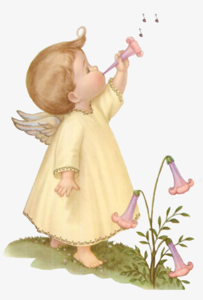 Free Download Angelitos Vintage Clipart Angelologia.