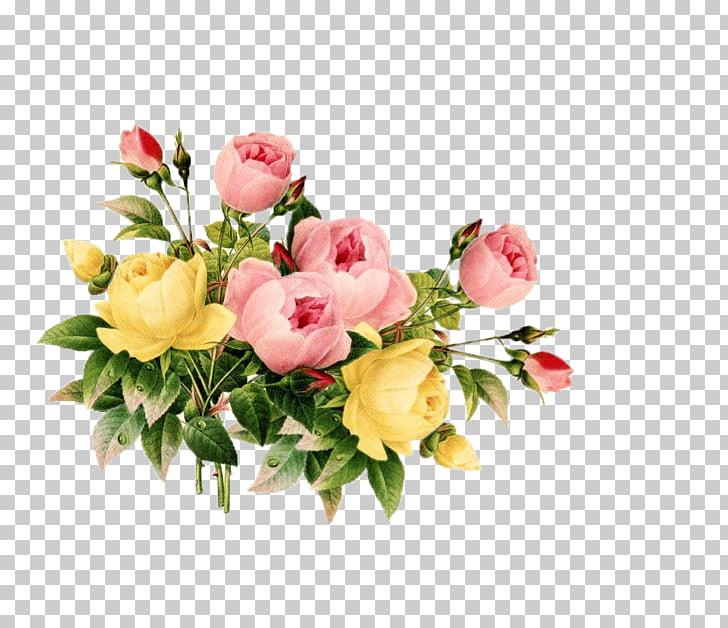 Flower Scrapbooking Free content , Floral s Vintage PNG.