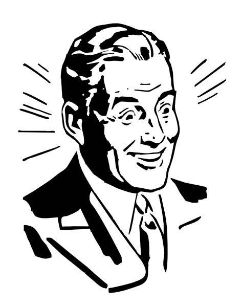 Happy Man Clipart.