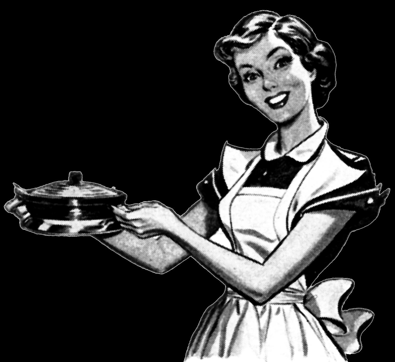 Cook clipart vintage, Cook vintage Transparent FREE for.