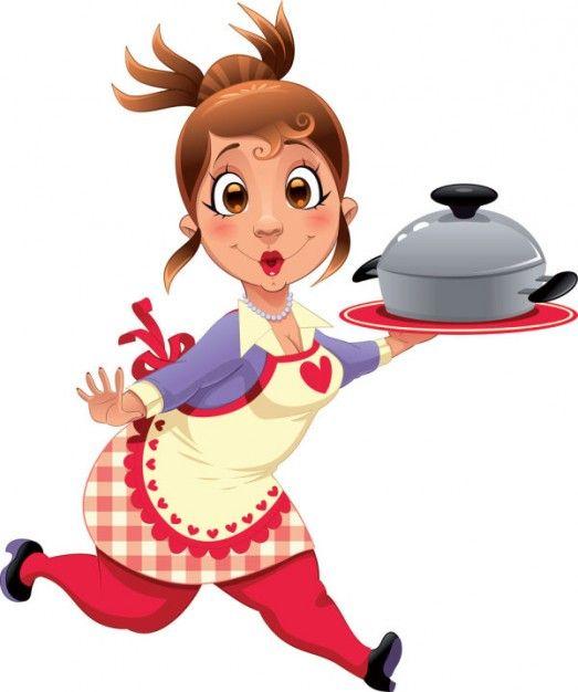 Chef Cooking Cartoon.