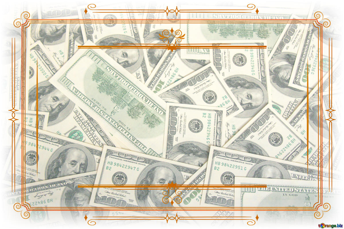 Download free picture Money Dollars Vintage retro frame.
