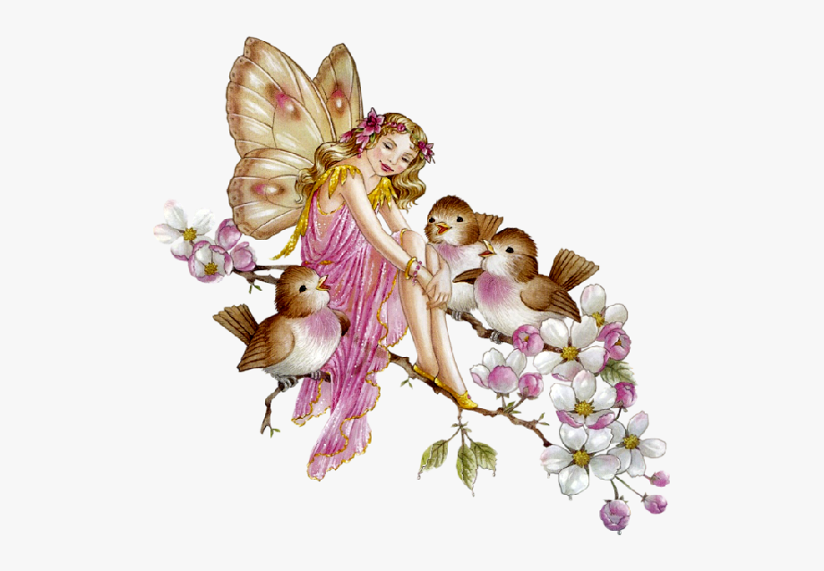 Fantasy Clipart Vintage Spring.