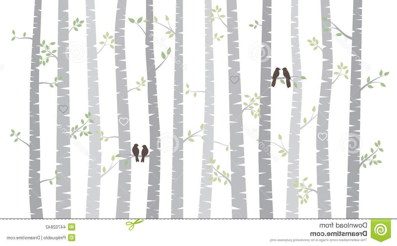 Top Aspen Tree Clip Art Black And White Cdr » Free Vector.