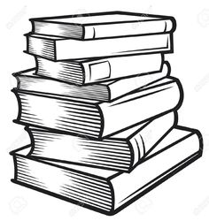 0 ideas about stack of books on vintage clip art 2.
