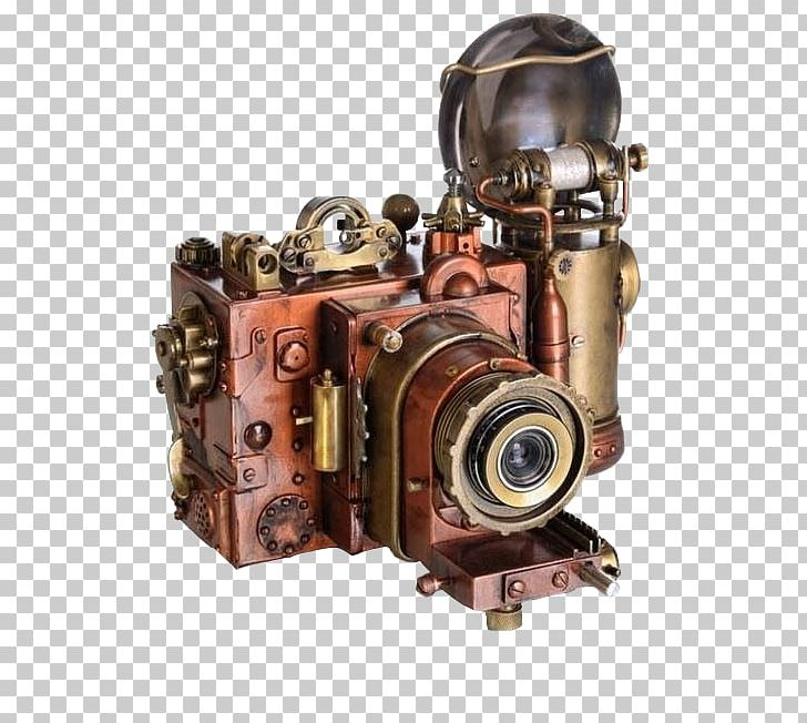 Steampunk Camera Stock Photography PNG, Clipart, Automotive.