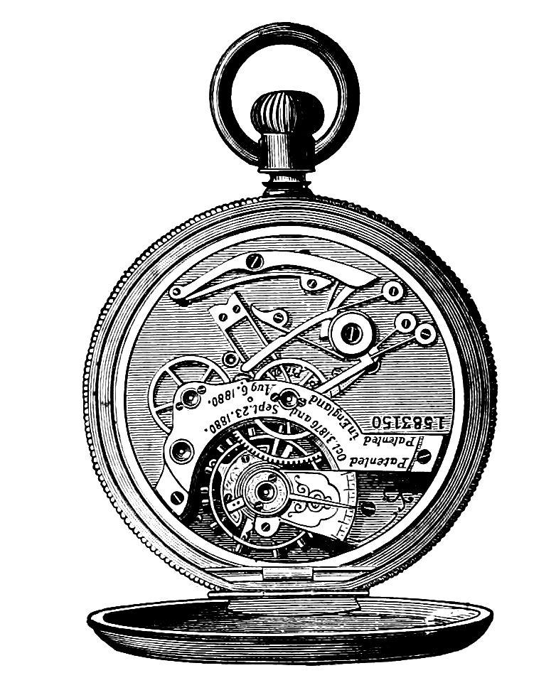 clip art, steampunk, steam punk, watch, watches, pocket.