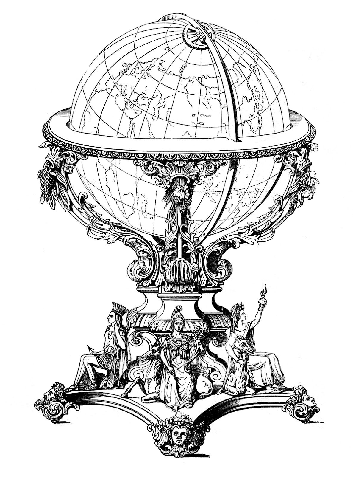 Ornate Globe.