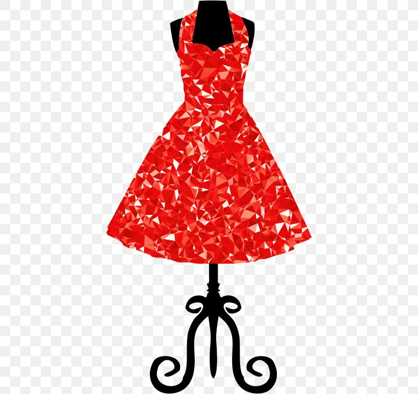 Dress Vintage Clothing Clip Art, PNG, 404x774px, Dress.