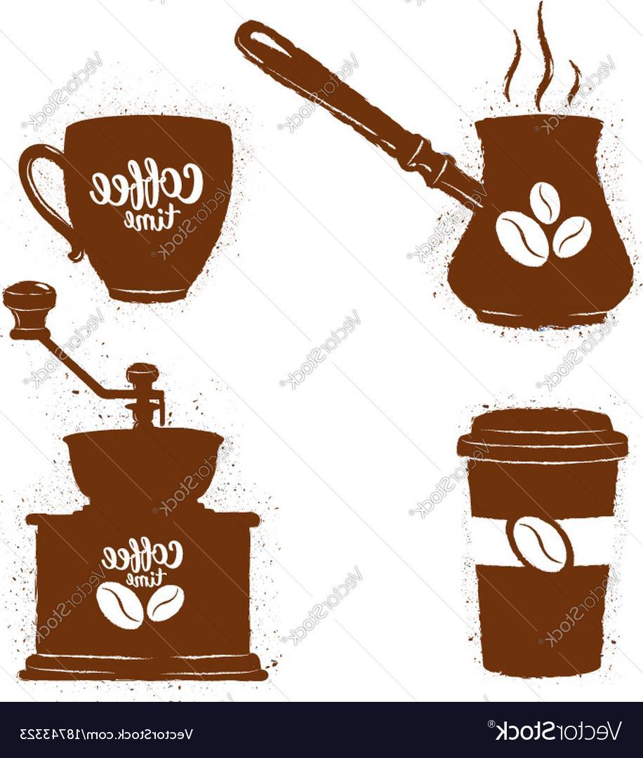 Top Vintage Coffee Clip Art Vector Cdr » Free Vector Art.
