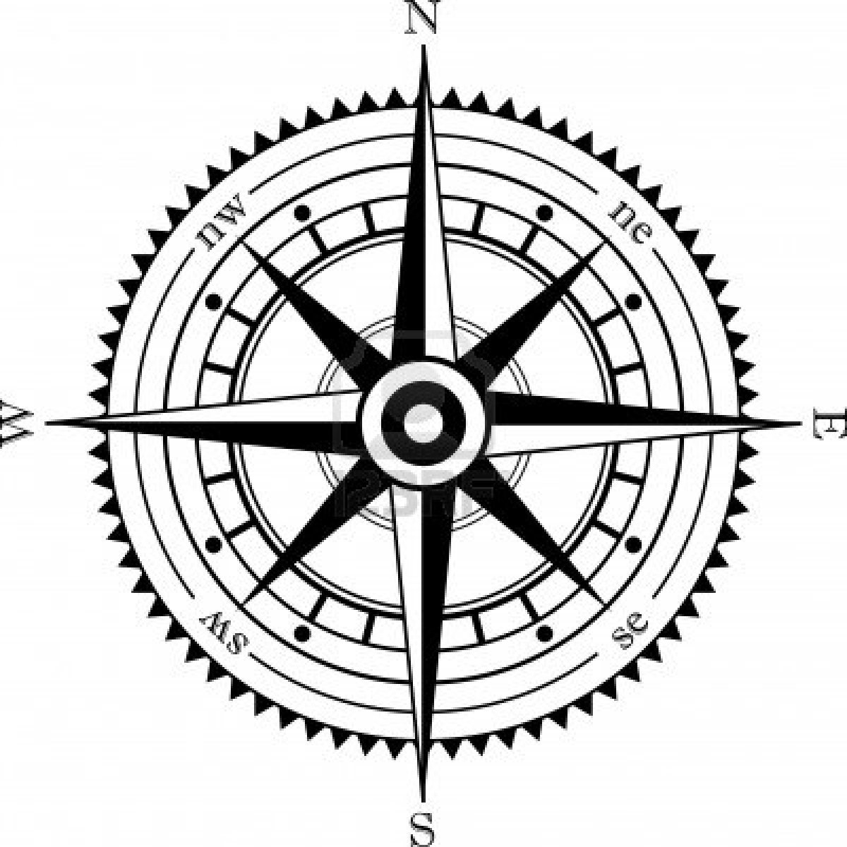 Free Clipart Compass.