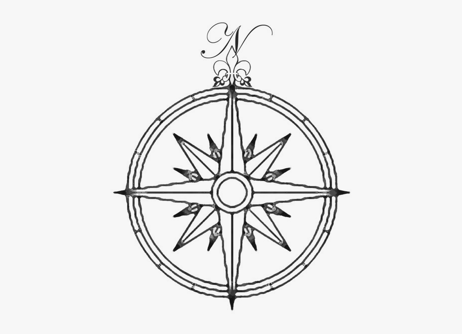 Image Library Download Vintage Compass Clipart.
