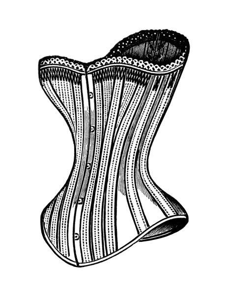 black and white clip art, free steampunk graphics, victorian.