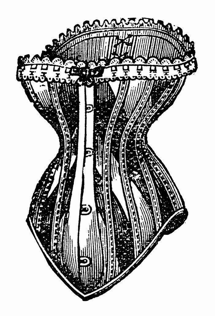 Download vintage corset png clipart Corset Clothing Clip art.