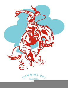 Free Clipart Vintage Cowgirls.