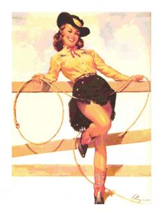Free Cowgirl Pinup Cliparts, Download Free Clip Art, Free.