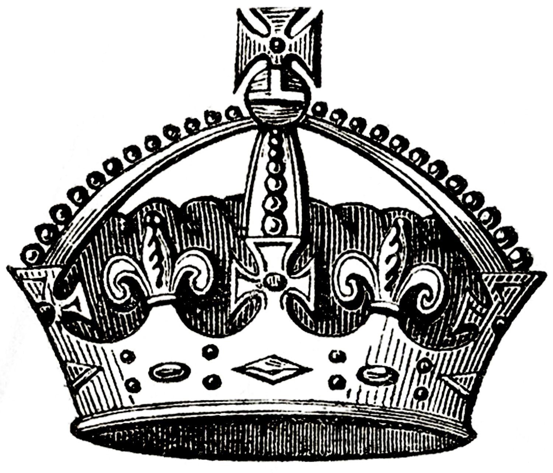 Vintage Crown Images.